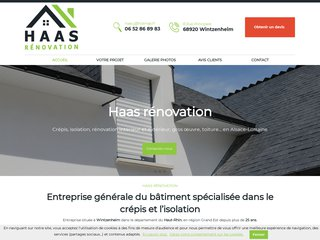 Haas Rénovation, entreprise de bâtiment à Wintzenheim