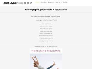David Levron, packshot produits, Nantes et Paris