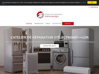 L'atelier de réparation d'électroménager à Sumène