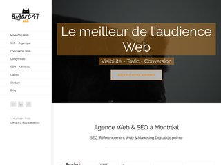Agence web et SEO à Montréal