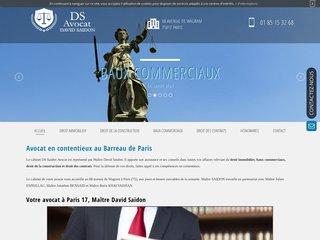 Maître David Saidon - Avocat à Paris 17