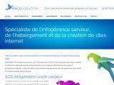 : Infogérance et réparation crash serveur, solutions web