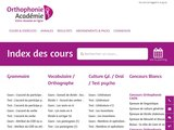 Orthophonie Académie : prépa concours orthophonie