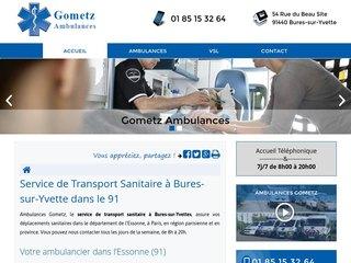 Des ambulances Gometz  à Essonne