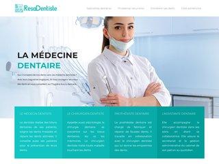 Informations sur la santé dentaire