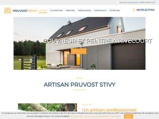 Pruvost Stivy, artisan couvreur à Rivecourt