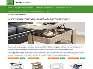 Guide d'achat dédié aux modèles de tables basses relevables