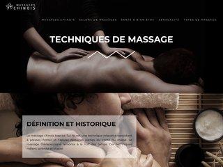 Le guide des massages chinois