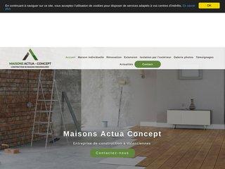 Maisons Actua Concept, Entreprise de construction