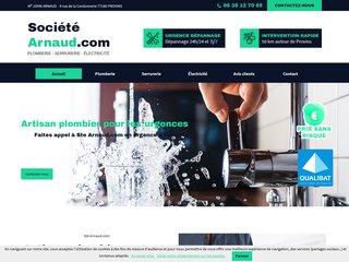 Plombier serrurie élec : Société ARNAUD.com (77)