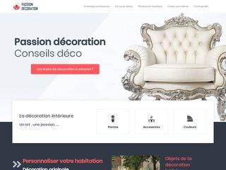 Passion Décoration, des conseils pour la décoration