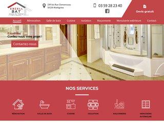 Rénovation de salle de bain à Wattignies