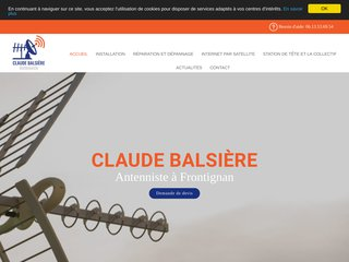 Installation antennes parabolique Frontignan