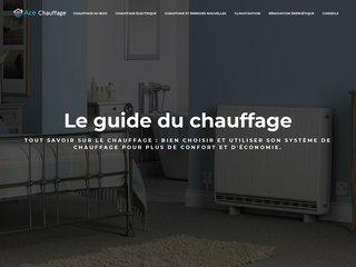 Ace Chauffage, portail web dédié aux informations sur le chauffage