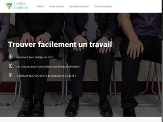 Informations sur les offres d'emploi