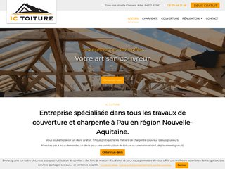 IC Toiture charpentier couvreur Assat