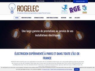 Electricien : ROGELEC à Paris (75)