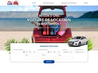 Louer voiture en Martinique - Mily Car
