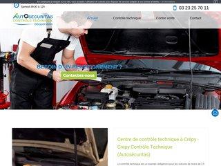 Autosecuritas : centre de contrôle technique à Crépy (02)