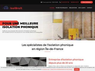 Isolbruit Habitat Systèmes, isolation phonique et thermique à Paris