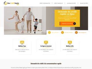 Demande de crédit rapide en ligne - Obtenez votre prêt personnel sans justificatif