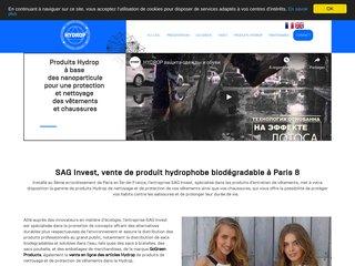 SAG Invest - Vendeur de produit hydrophobe biodégradable