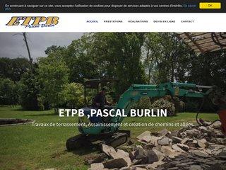 ETPB, entreprise de terrassement à Moncrabeau