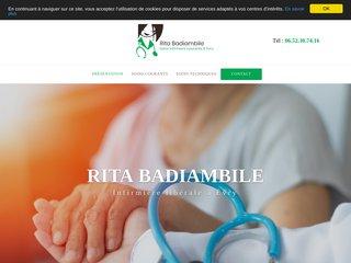 RITA BADIAMBILE, Infirmière libérale à Évry