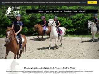 Elevage, location et négoce de chevaux en Rhône-Alpes