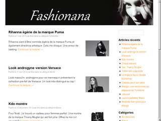 Blog fashion : Fashionana.fr