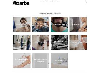 Oh My Barbe — Prendre soin de sa barbe
