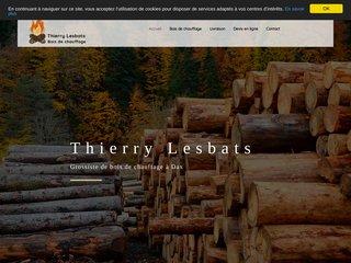 Thierry Lesbats, grossiste en bois de chauffage
