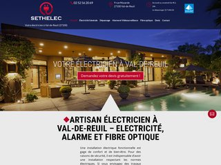 Installateur d'alarme à Val-de-Reuil (27)
