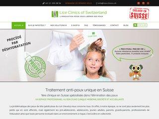 Institut de beauté, soins contre les poux