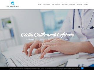 Cécile Guillemant Lefebvre, infirmière libérale à Merlimont
