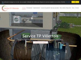 Service TP Villettois, entreprise de travaux de terrassement