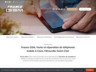 France GSM, réparation de téléphone et d'ordinateur à Caen