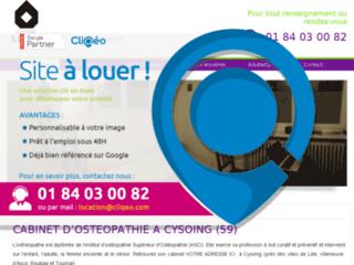 Cabinet d'ostéopathie à Marquette-Lez-Lille (59)