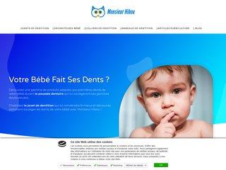 Soulager les douleurs des poussées dentaires de votre bébé