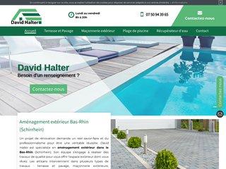 David Halter - Amenagement plage de piscine à Bas-Rhin