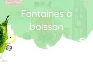 Boisson et Fontaine