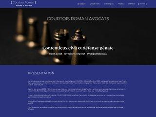 Cabinet d'avocats Courtois Roman