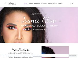 Joanes Glow - Maquilleur professionnel & Formations