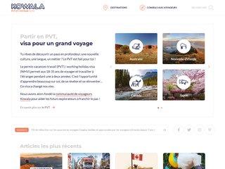 Kowala - voyager et travailler à l'étranger grâce au PVT