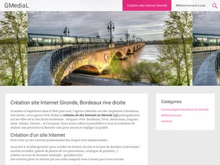 Création site Internet Gironde (33)