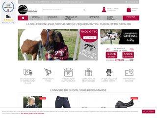 Boutique en ligne pour l'équitation