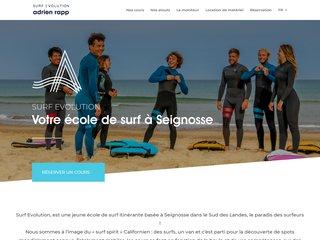 Location de matériels de surf à Seignosse