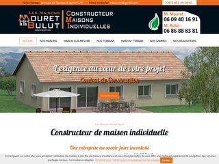 Constructeur maisons individuelles : MOURET BULUT à Gap (05)
