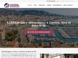 LCEDEM, votre spécialiste du déménagement à Nice