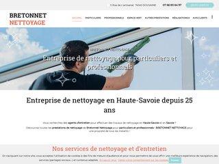 Nettoyage : BRETONNET Nettoyage à Douvaine (74)